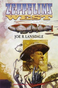 "Cover des Buches ""Zeppelins West"" von Joe R. Landsdale"