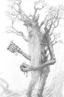 Tom Bombadil von Alan Lee