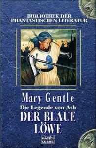 """Cover des Buches """"Der blaue Löwe"""" von Mary Gentle"""