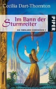 """Cover des Buches """"Im Bann der Sturmreiter"""" von Cecilia Dart-Thornton"""