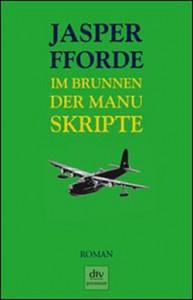 """Cover des Buches """"Im Brunnen der Manuskripte"""" von Jasper Fforde"""