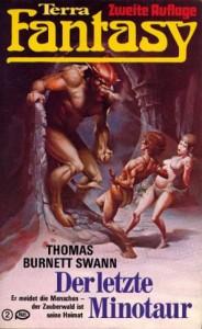 """Cover des Buches """"Der letzte Minotaur"""" von Thomas Burnett Swann"""