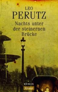 """Cover des Buches """"Nachts unter der steinernen Brücke"""" von Leo Perutz"""