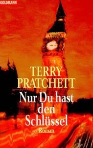 """Cover zum Buch """"Nur Du hast den Schlüssel"""" von Terry Pratchett"""