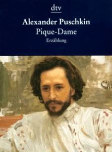 """Cover des Buches """"Pique Dame"""" von Alexander Puschkin"""
