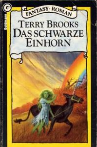"""Cover des Buches """"Das schwarze Einhorn"""" von Terry Brooks"""