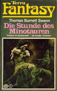 """Cover des Buches """"Die Stunde des Minotauren"""" von Thomas Burnett Swann"""