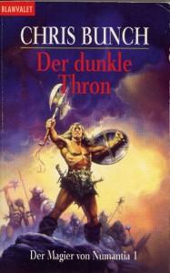 Cover von Der dunkle Thron von Chris Bunch