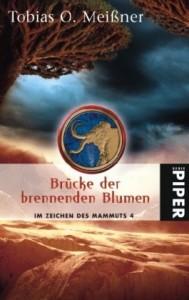 """Cover des Buches """"Brücke der brennenden Blumen"""" von Tobias O. Meißner"""