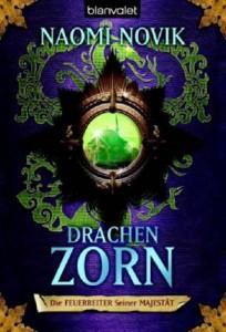 """Cover des Buches """"Drachenzorn"""" von Naomi Novik"""