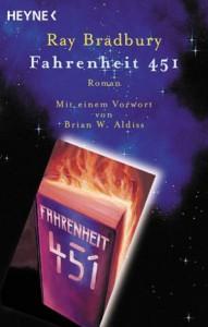 """Cover des Buches """"Fahrenheit 451"""" von Ray Bradbury"""