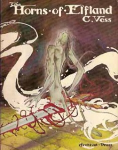 "Cover von ""The Horns of Elfland"" von Charles Vess"