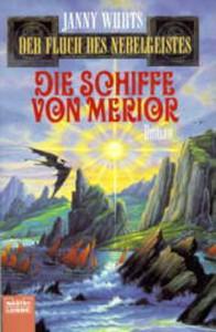 """Cover des Buches """"Die Schiffe von Merior"""" von Janny Wurts"""