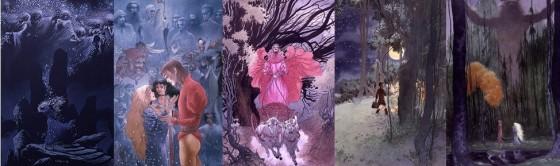 Bilder aus Stardust von Neil Gaiman und Charles Vess