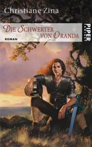 """Cover des Buches """"Die Schwerter von Oranda"""" von Christiane Zina"""