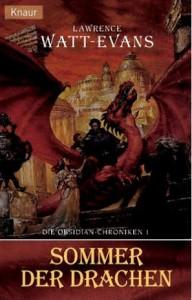 """Cover des Buches """"Sommer der Drachen"""" von Lawrence Watt-Evans"""