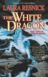 Cover von The White Dragon von Laura Resnick