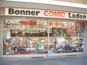 Bonner Comic Laden