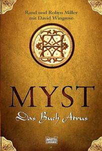 """Cover des Buches """"Das Buch Atrus"""" von Robin & Rand Miller und David Wingrove"""
