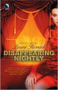 "Cover des Buches ""Disappearing Nightly"" von Laura Resnick"