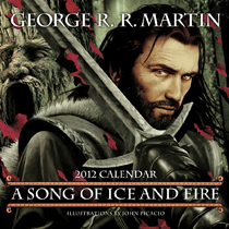 A Song of Ice and Fire, Kalender von John Picacio