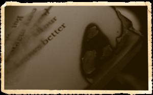 Ein (Buch-)Mord: Beweisfoto C