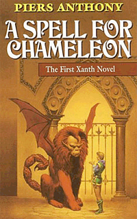 A Spell for Chameleon von Piers Anthony