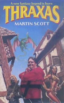 Thraxas von Martin Scott