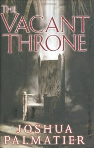 The Cacant Throne von Joshua Palmatier