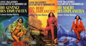 Cover der Eisplanet-Trilogie von E.A. Scarborough