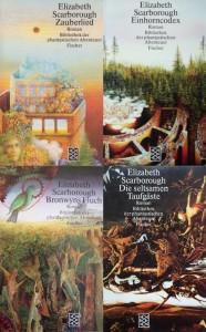 Cover der Gretchen Grau-Romane von E.A. Scarborough
