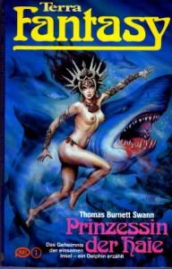 """Cover des Buches """"Prinzessin der Haie"""" von Thomas Burnett Swann"""