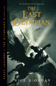 The Last Olympian von Rick Riordan