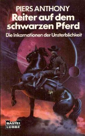 Reiter auf dem schwarzen Pferd von Piers Anthony