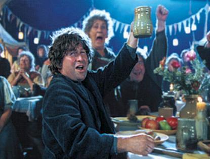 Hobbits lassen es sich schmecken (Warner Bros)