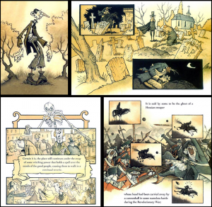 The Legend of Sleepy Hollow illustriert von Gris Grimly