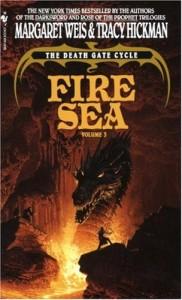 Fire Sea von Margaret Weis und Tracy Hickman