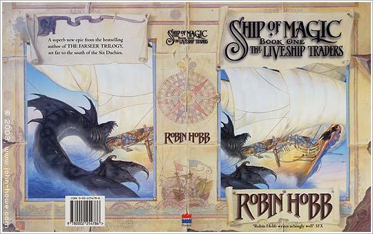 Cover (wraparound) Ship of Magic von Robin Hobb