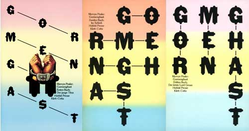 Gormenghast-Tilogie, alte Cover