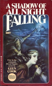 A Shadow of all Night Falling von Glen Cook