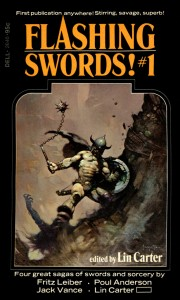 Flashing Swords von Lin Carter