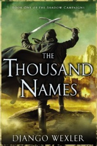 The Thousand Names von Django Wexler
